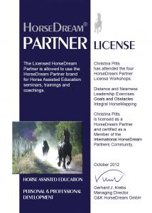 HorseDream License
